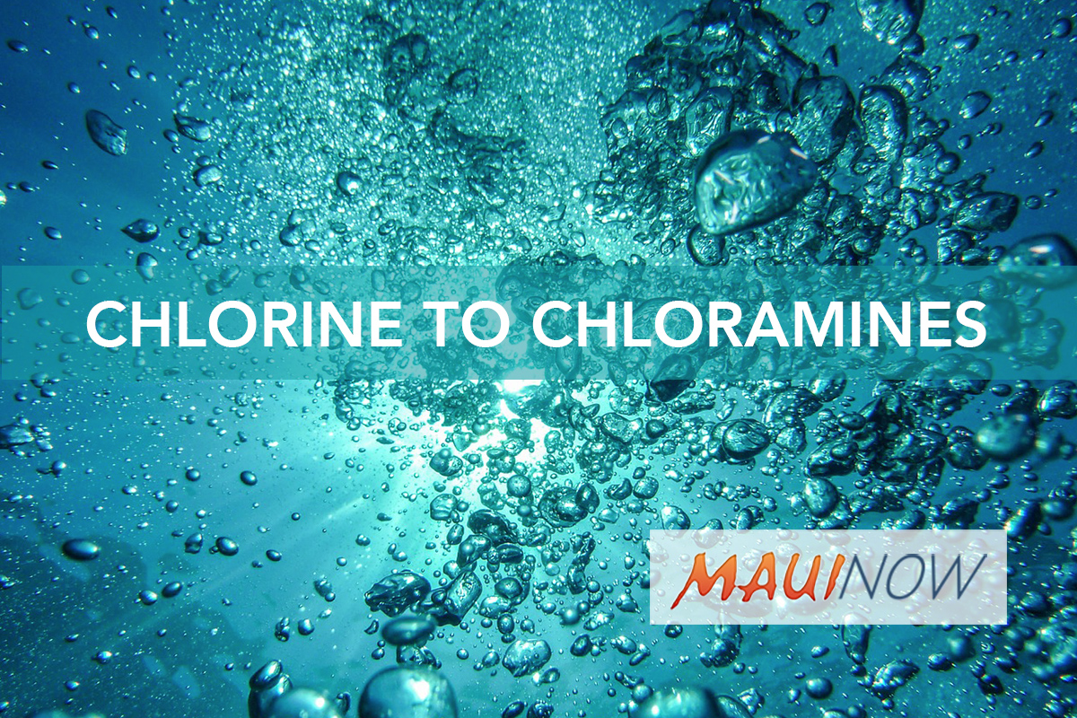 Upper Kula Water System to Return to Chloramines Use