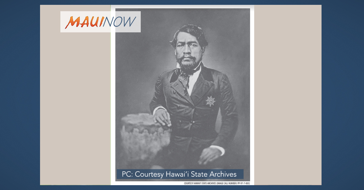 Birthday Observation for Kamehameha III, March 17