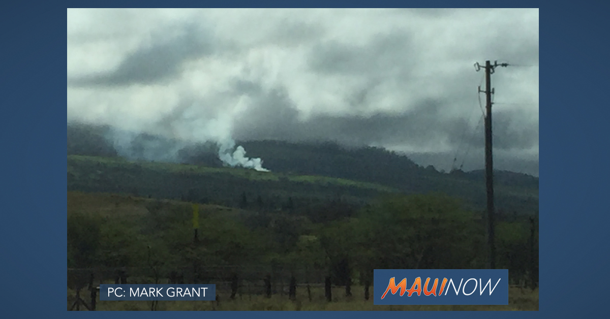 Photos: 'Ulupalakua Fire