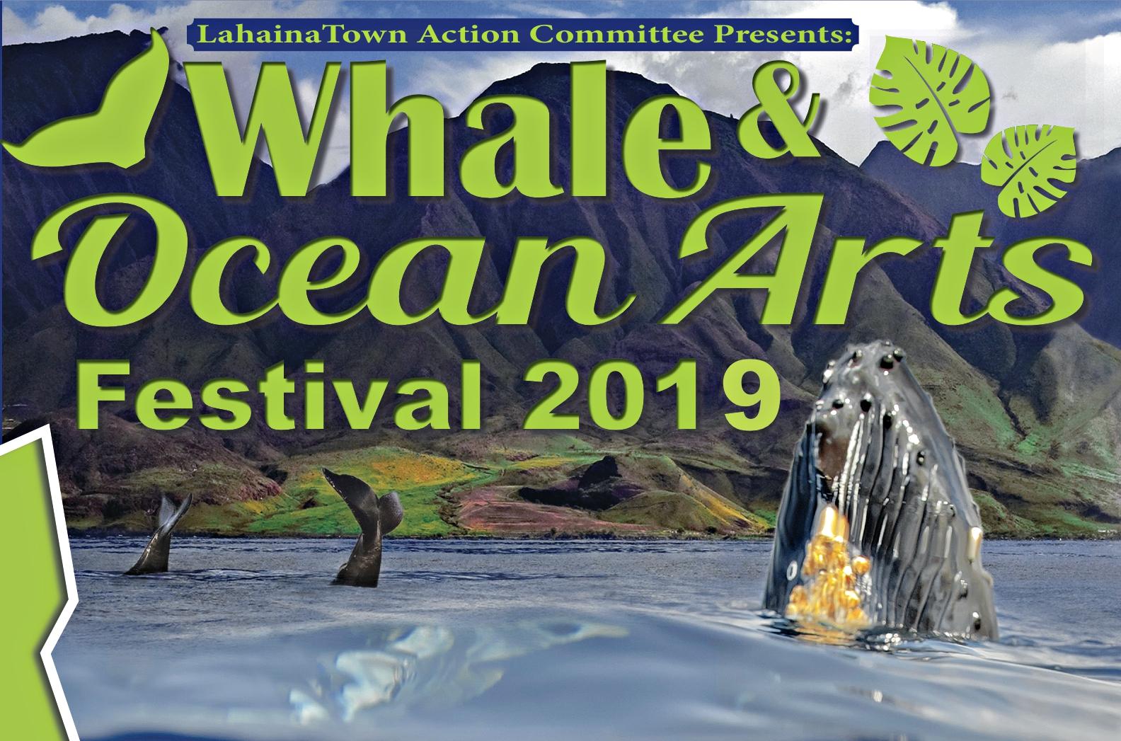 Free Whale & Ocean Arts Festival 2019, March 9