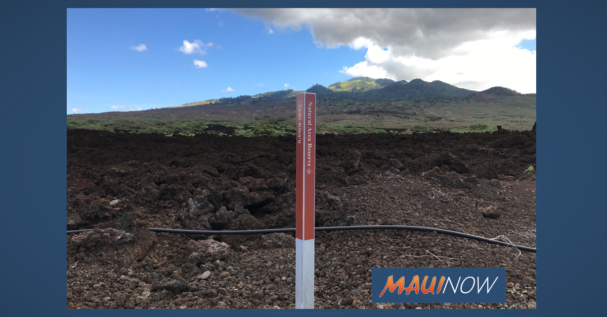 Hiker Injured on South Maui Lava Field