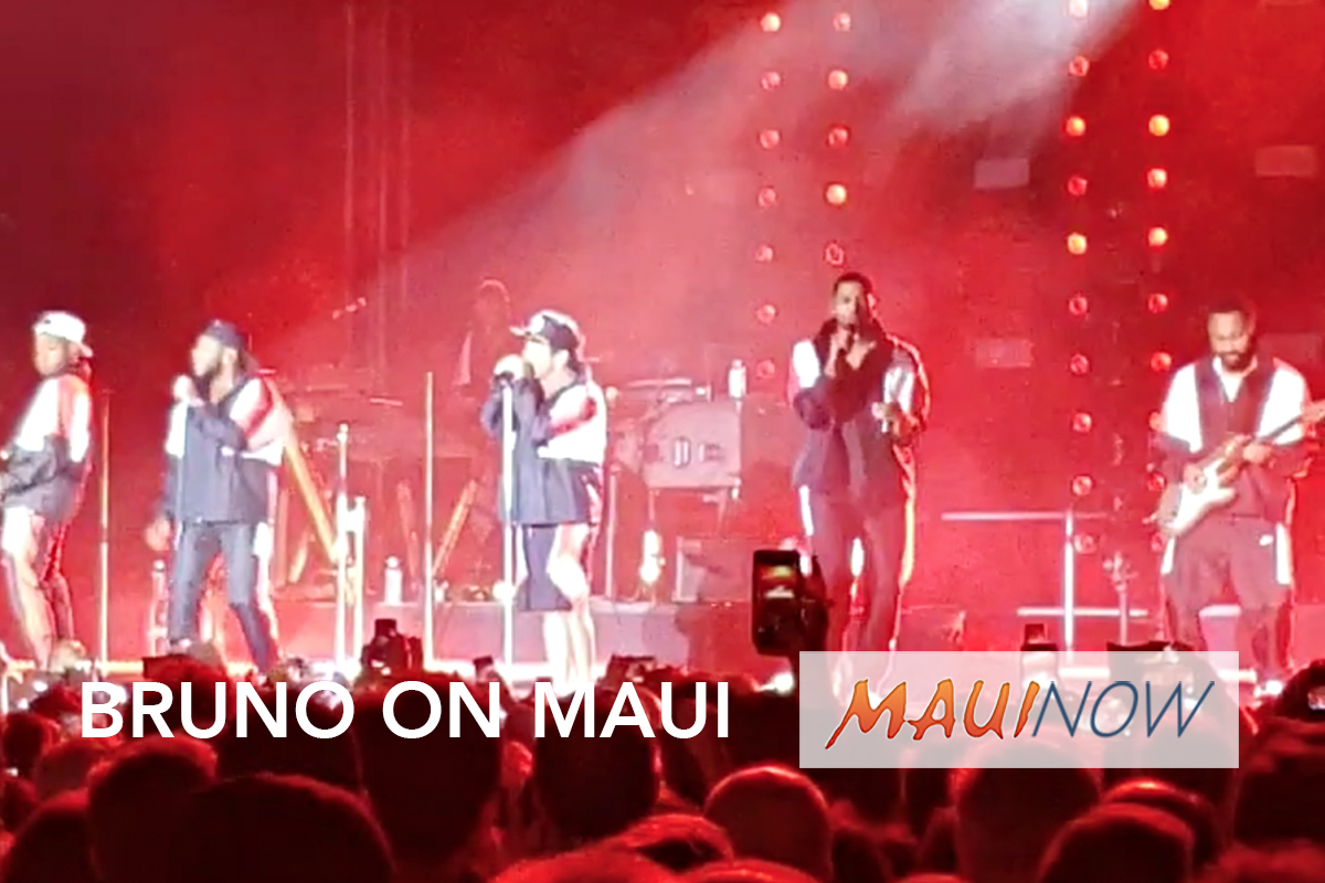VIDEO: Bruno Mars Makes Special Maui Appearance