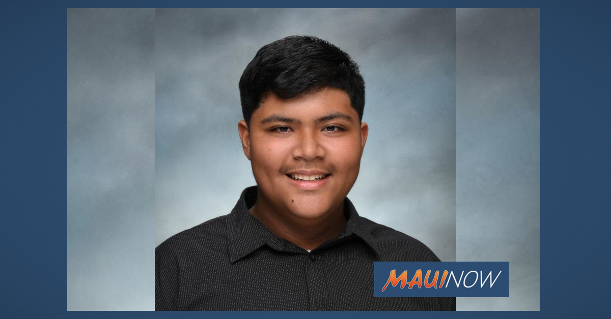 "Teen Named Maui Boys & Girls Club ""Youth of the Year"""