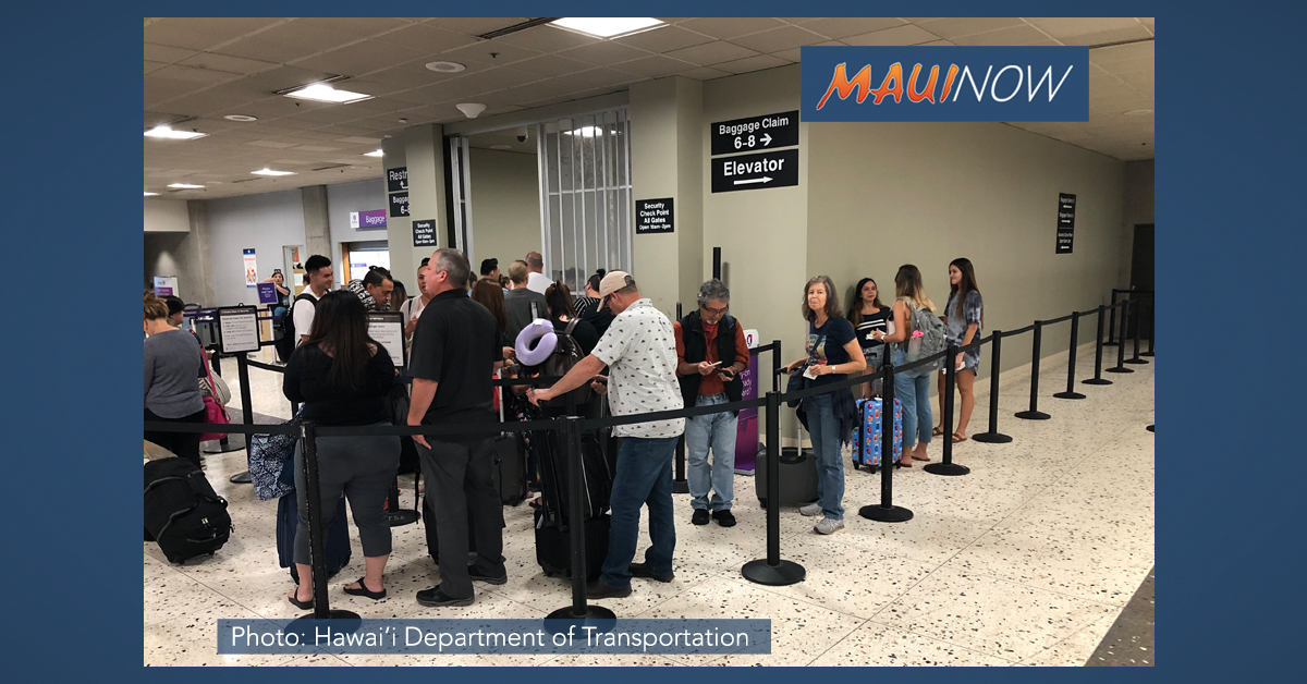 Spring Break Travel Results in Crowded Airports