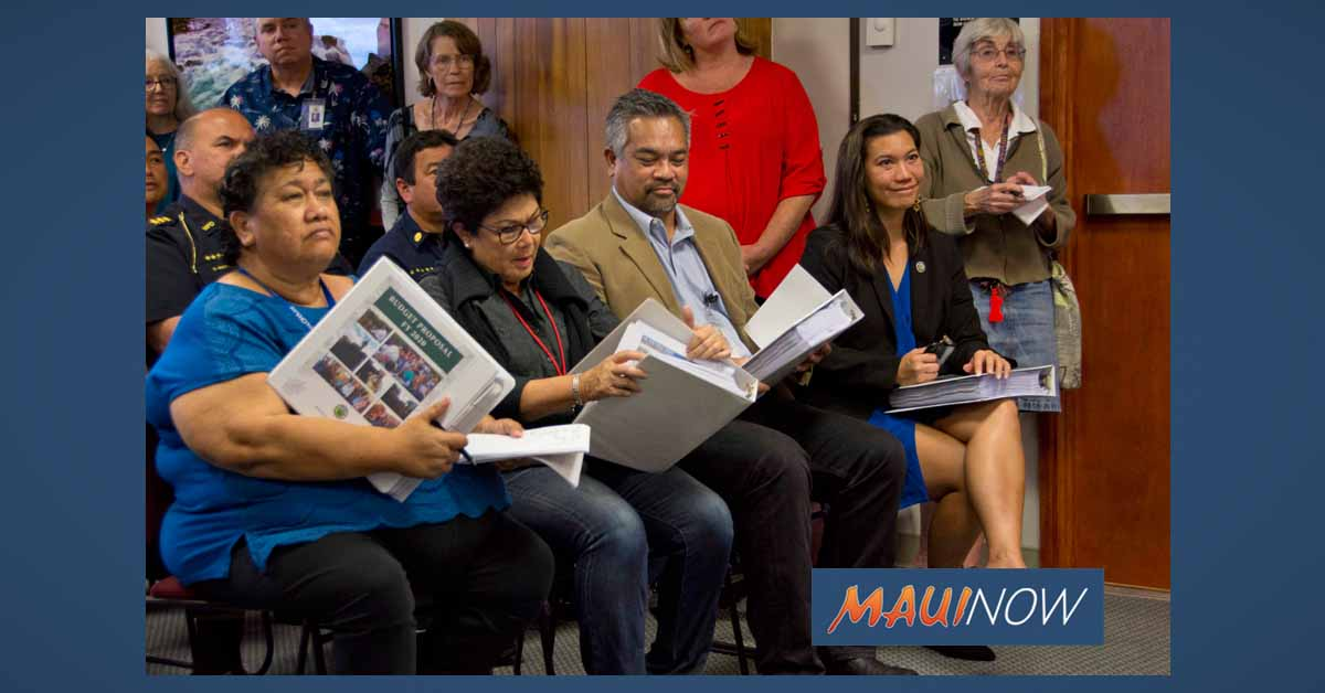 Maui Mayor Proposes FY 2020 Budget