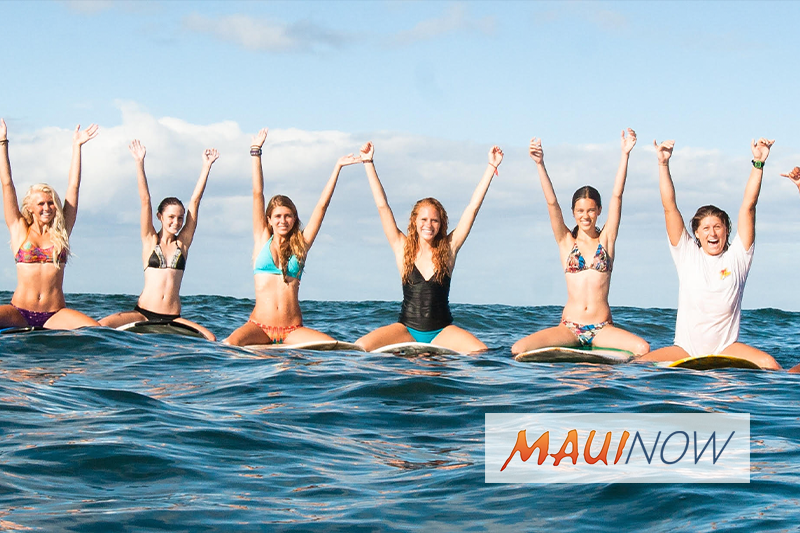 Maui Surf School Offers Scholarships for Teen Camp