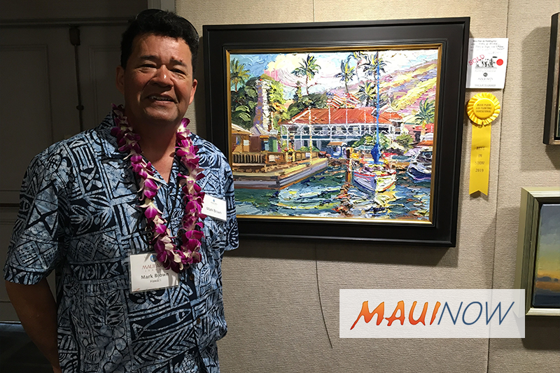 Oʻahu Artist Takes Top Honor at Maui Painting Invitational