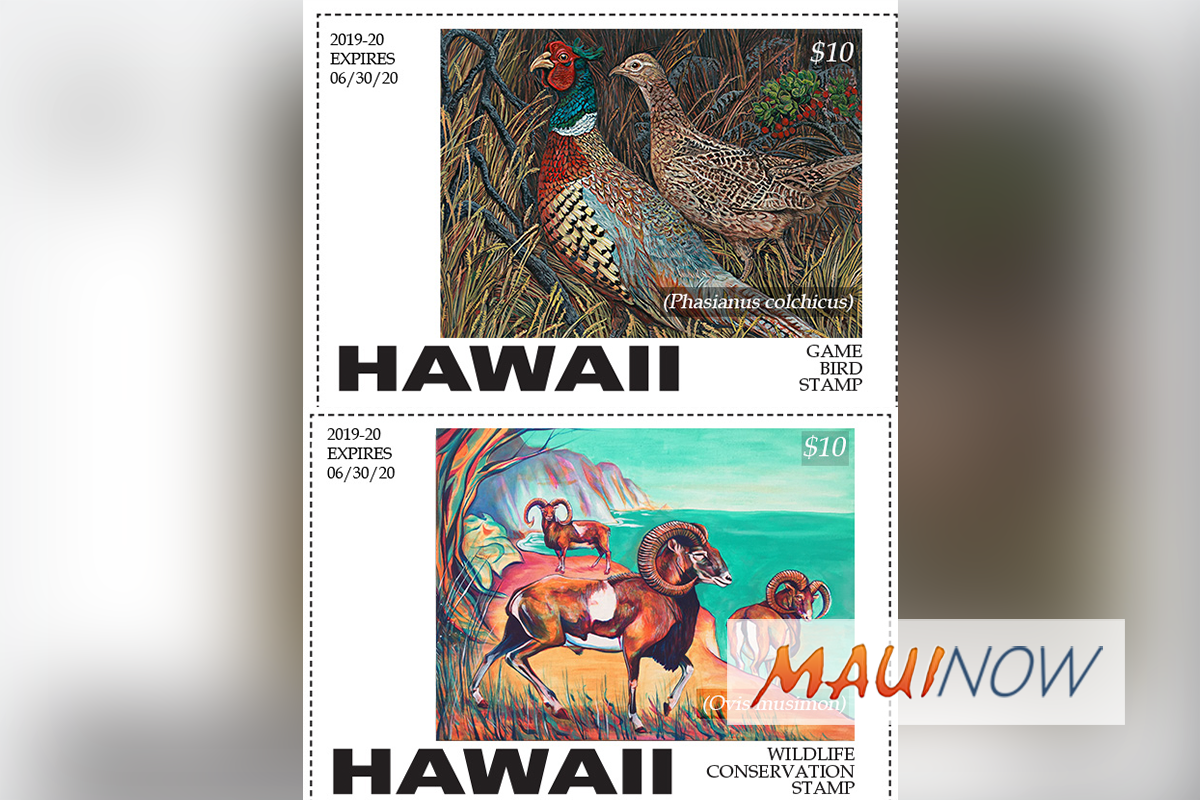 Hawaiʻi Hunting Stamp Contest Winners Announced