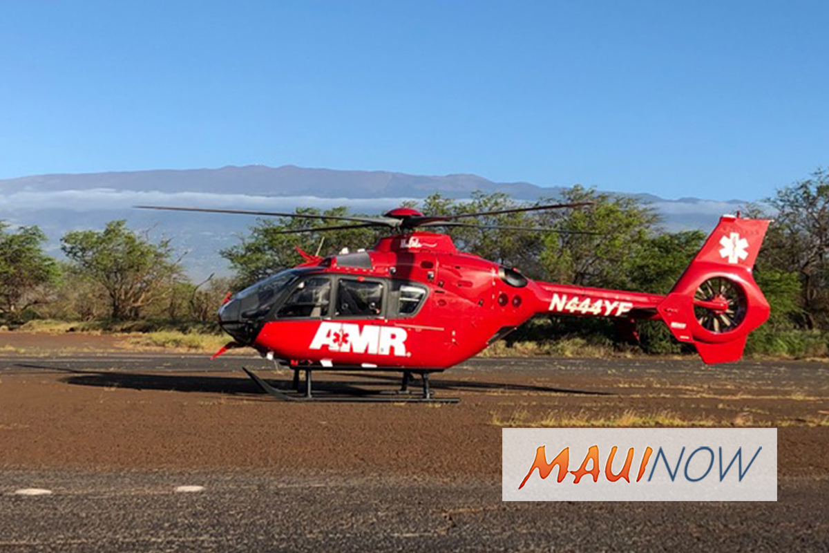 New Helicopter Medevac to Service Maui County