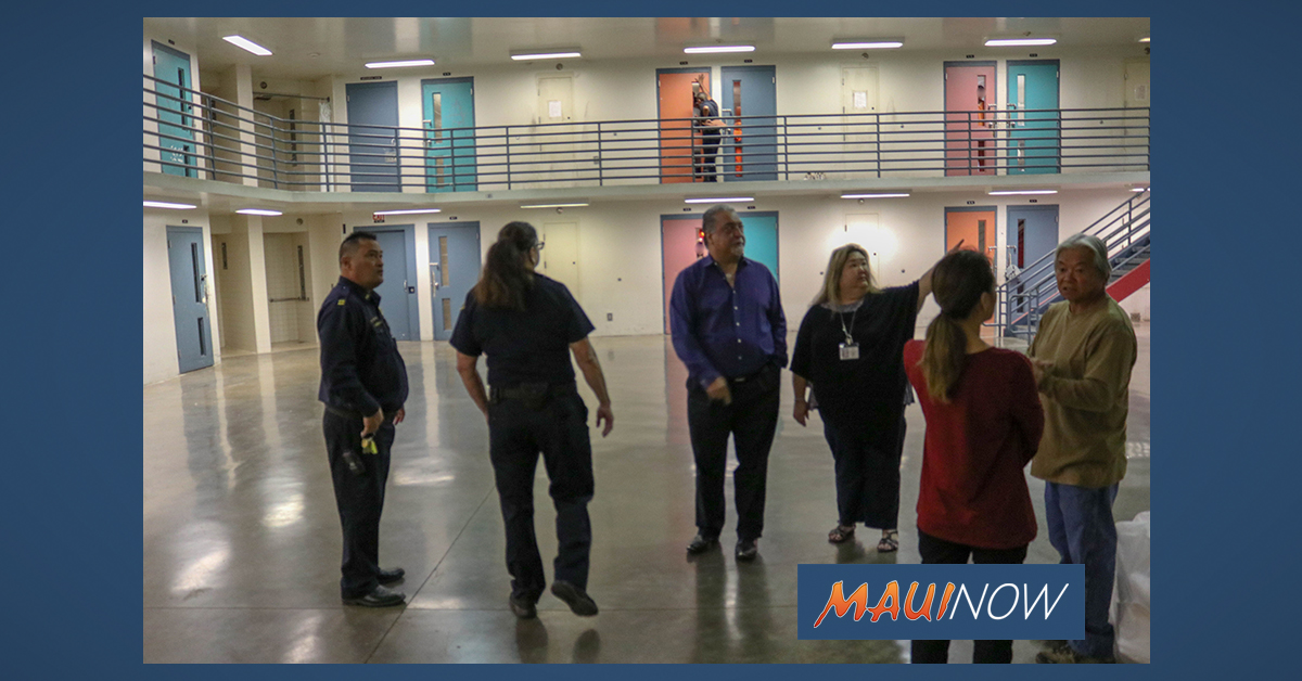 Senate Committees to Hold Maui Briefing on Maui Correctional Center