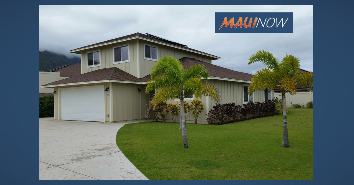 Nā Hale O Maui Selects Occupant for Latest Affordable Home