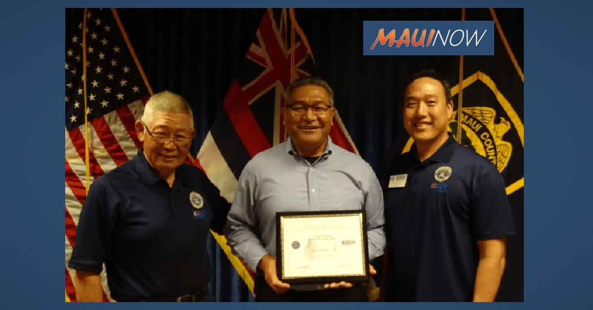 Maui Police Chief Honored with Patriot Award