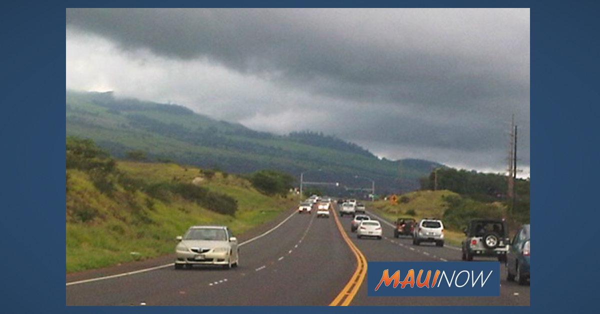 Pi'ilani Highway Lane Closures, March 25 to April 5