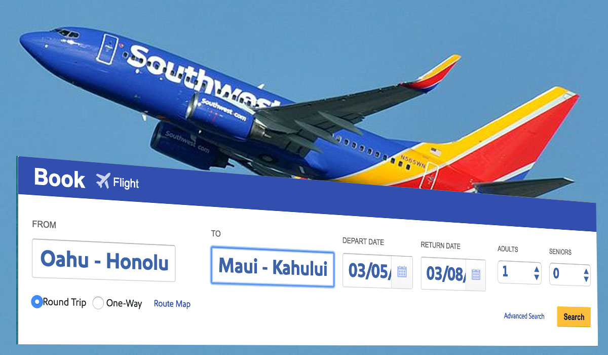 Southwest Begins Selling Flights to Hawai'i