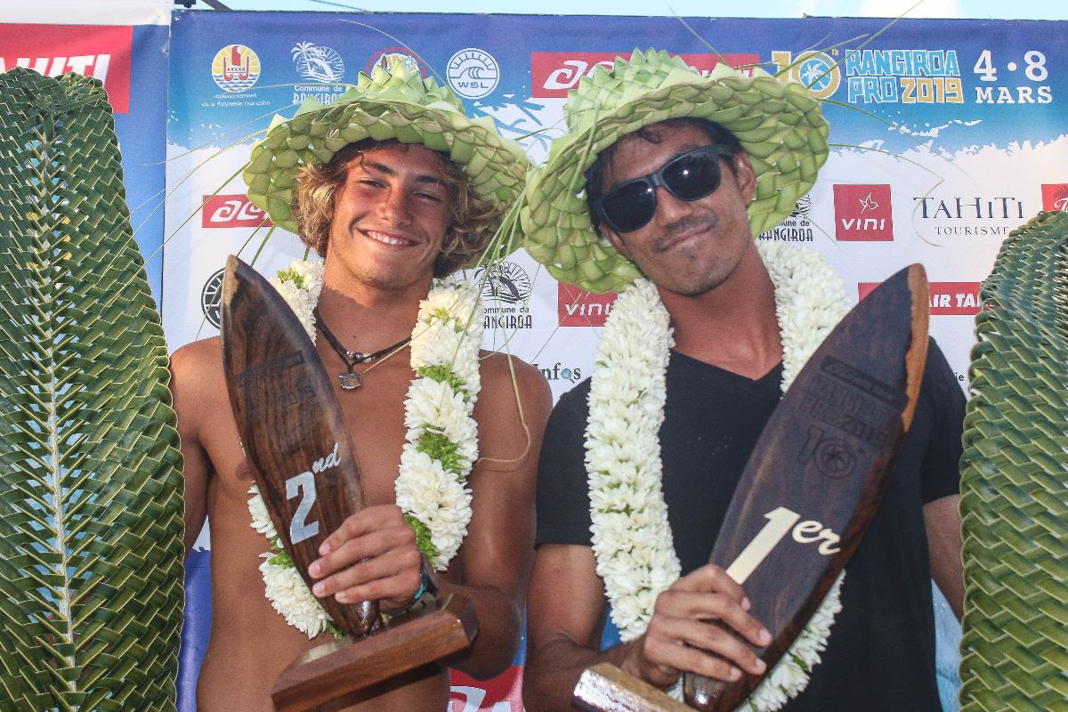 Hawai'i's Gillette Wins Air Tahiti Rangiroa Pro