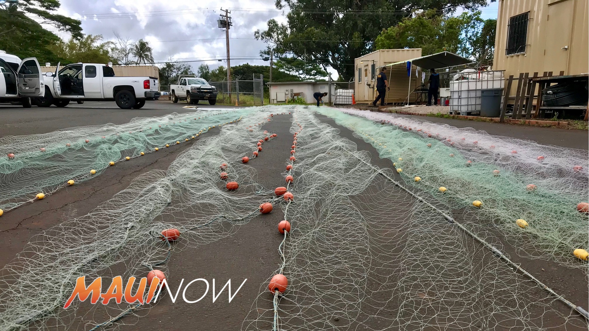 1,000 Feet of Illegal Lay Net Confiscated