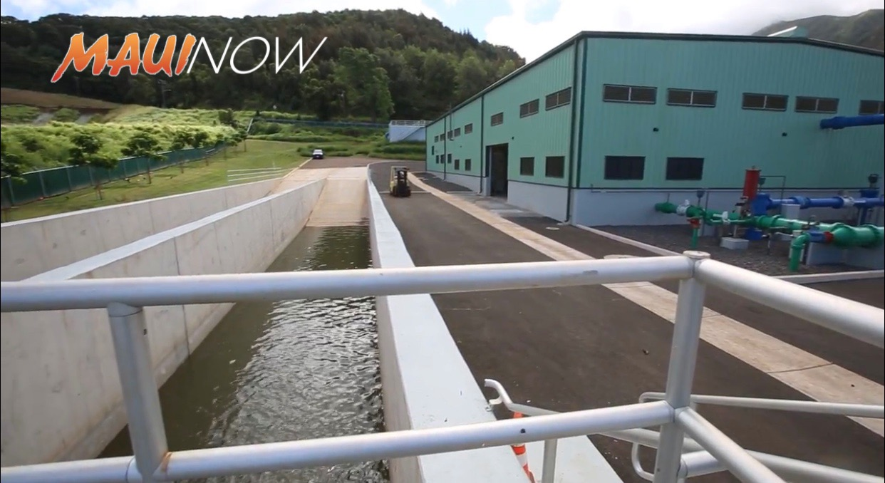 Blessing Held for $21.7 M 'Īao Water Treatment Plant