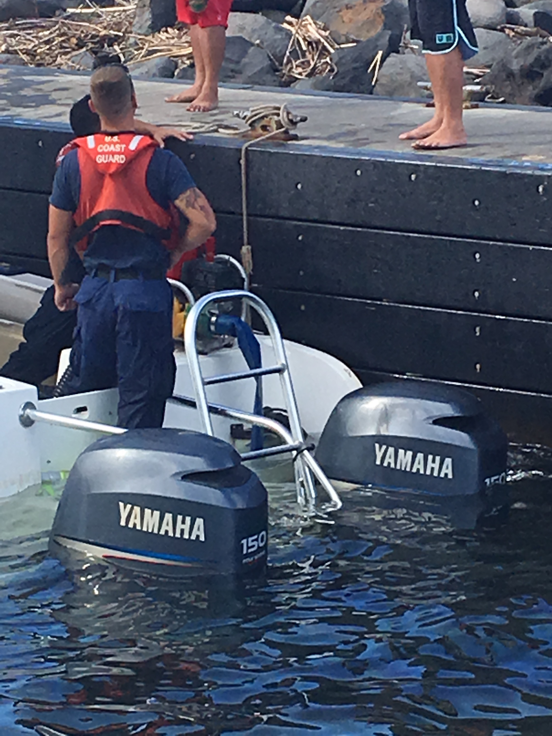 Boat In Distress Off West Maui, 10 Rescued