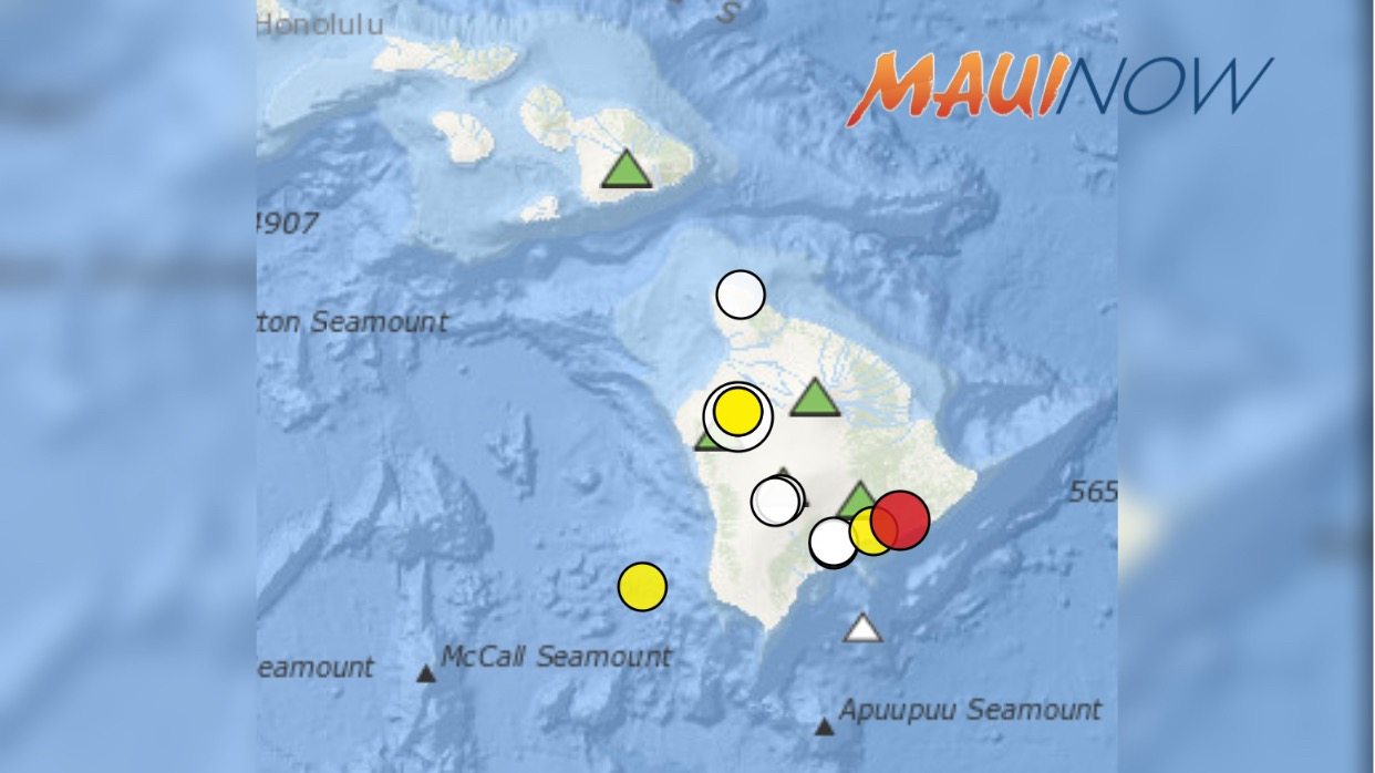 4.2 Earthquake SE of Volcano, Hawaiʻi: Adjusting South Flank