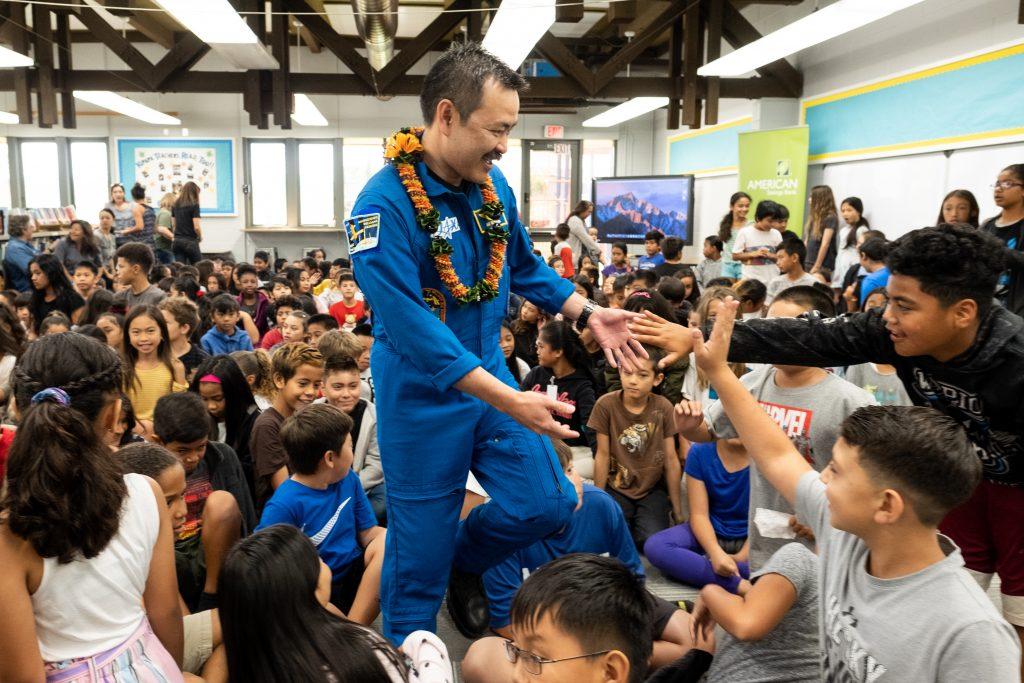 Maui Now : NASA Astronaut Visits Students for Onizuka ...