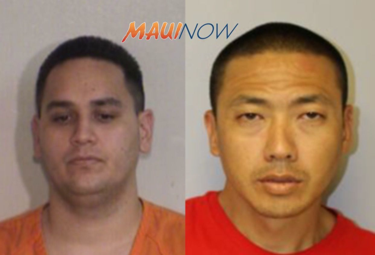 Meth Recovered in Wailuku Vehicle Search