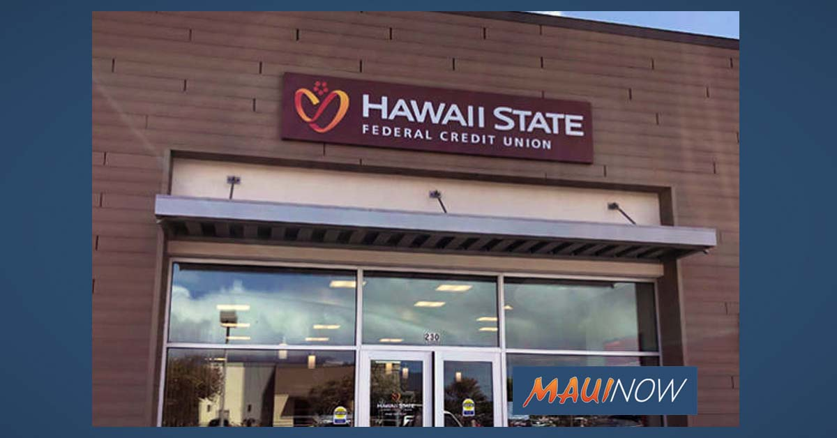 Hawaiʻi State FCU Announces Special Hours For Kūpuna, High-Risk Members