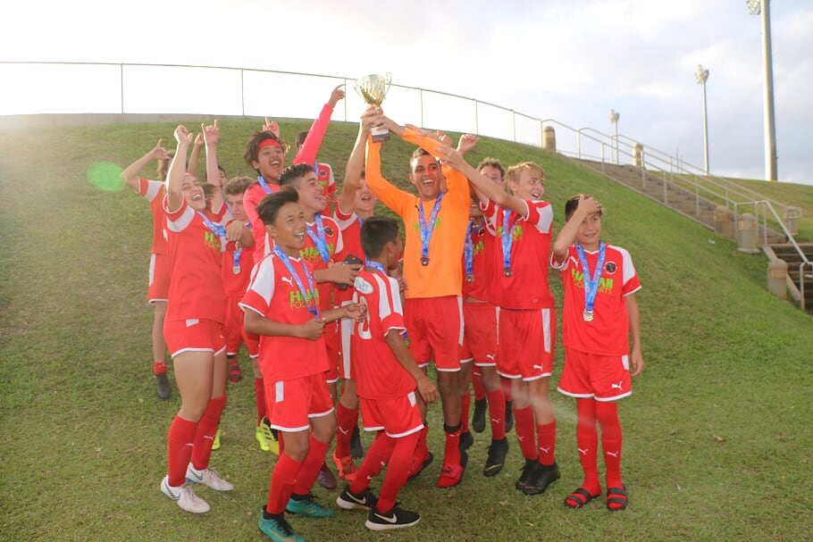 Maui Youth Soccer Team Earns State Cup Title