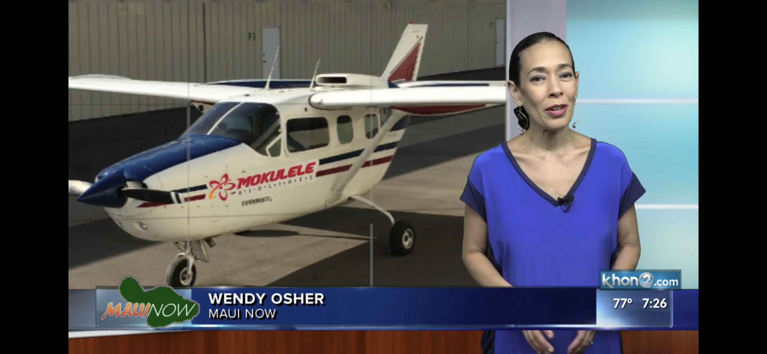 Hybrid Electric Plane Test Flights Planned on Maui