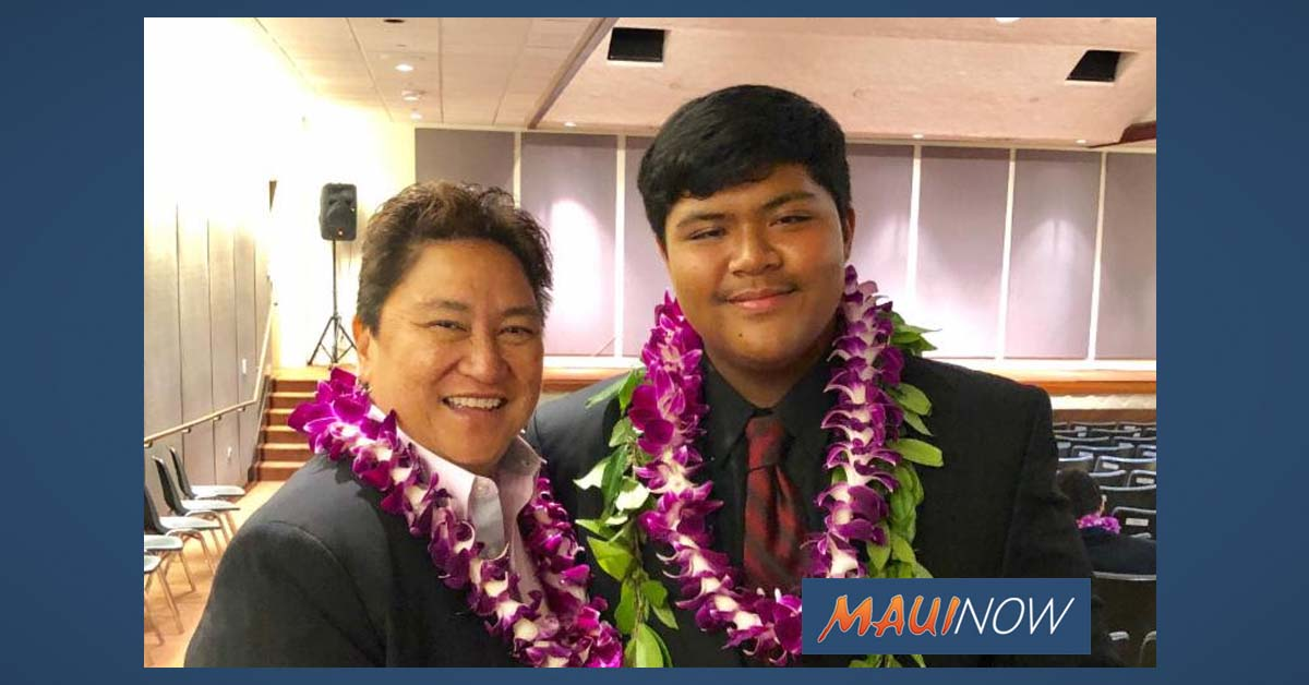 Maui Teen Wins Hawai'i Youth of the Year Title