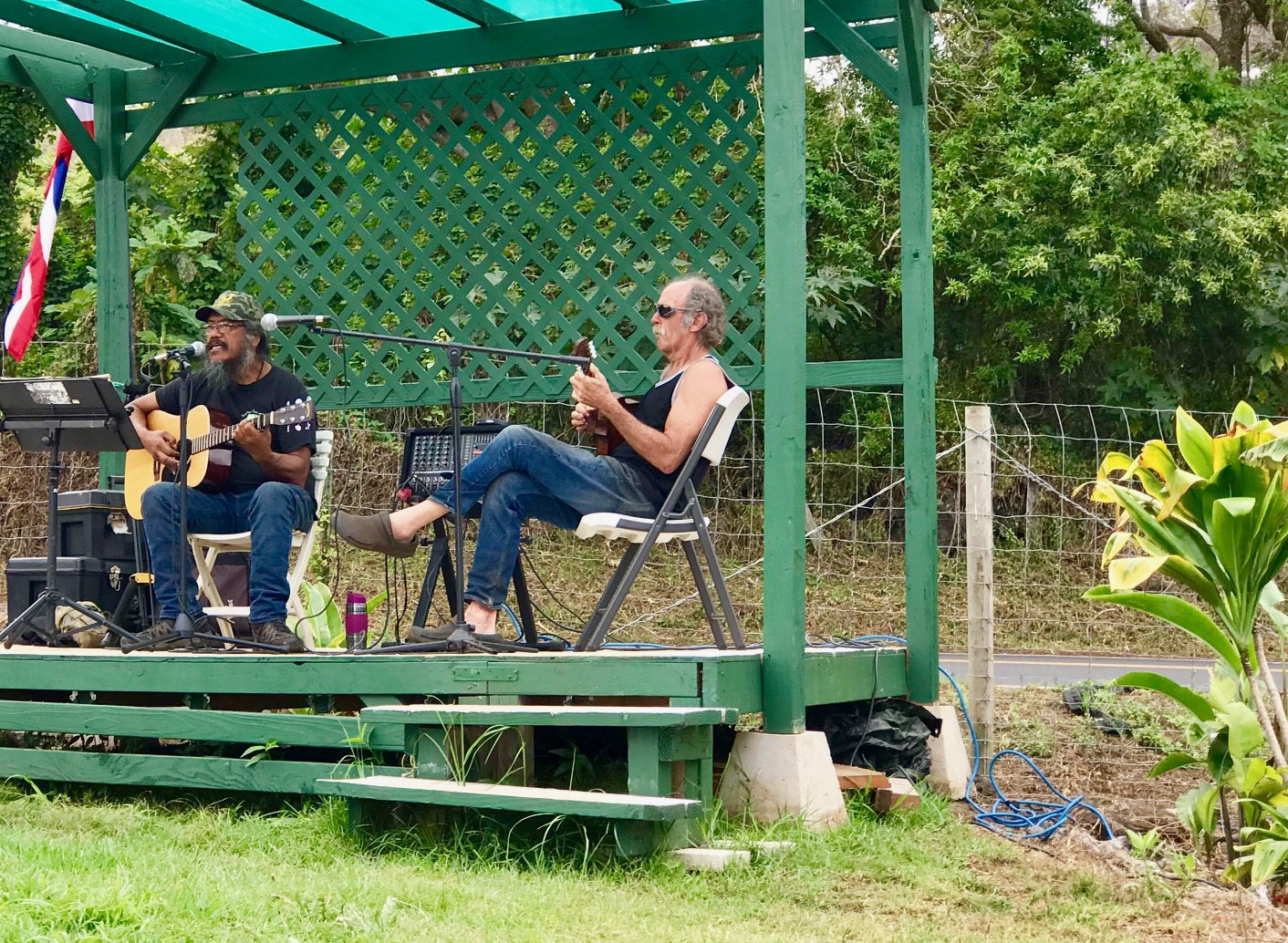 Music and Diverse Goods at Kēōkea Farmers Market
