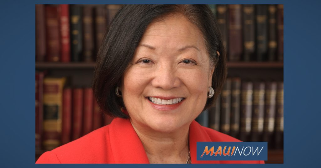Maui Now: Hirono Decries President's 'Malicious' Efforts to Annul Affordable Care Act
