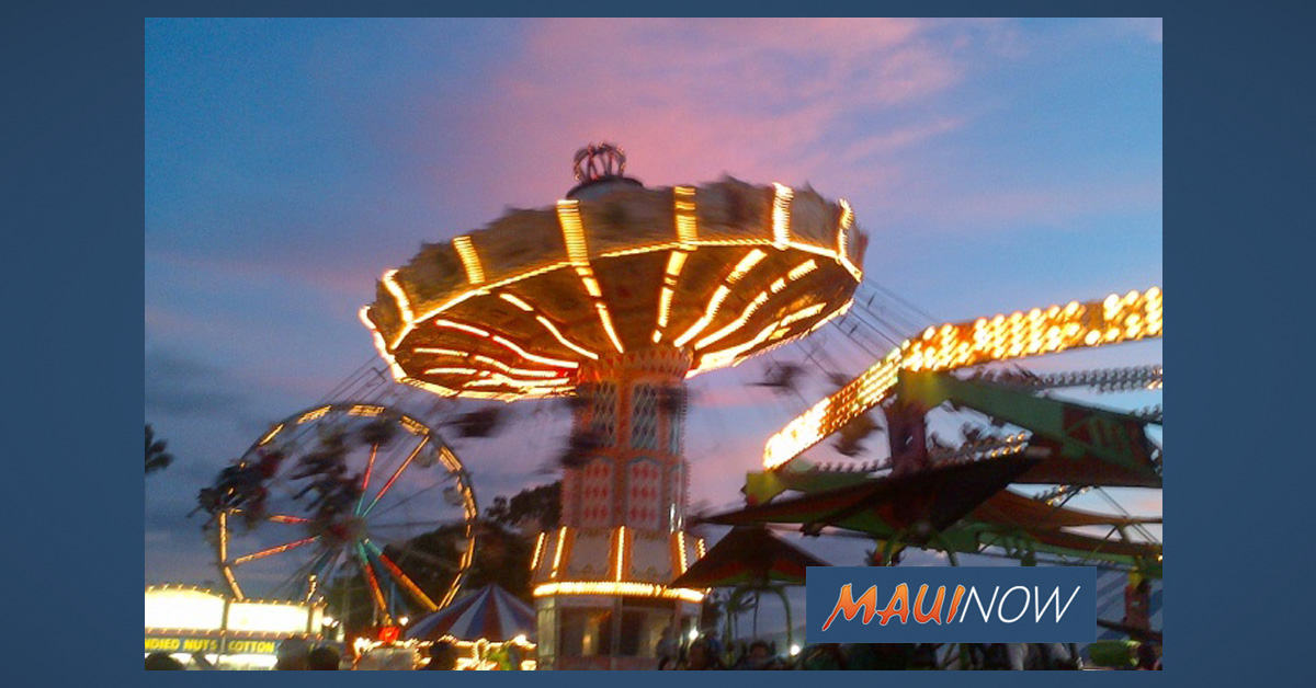 Maui Fair Gives a Huge Mahalo to their 2019 Sponsors