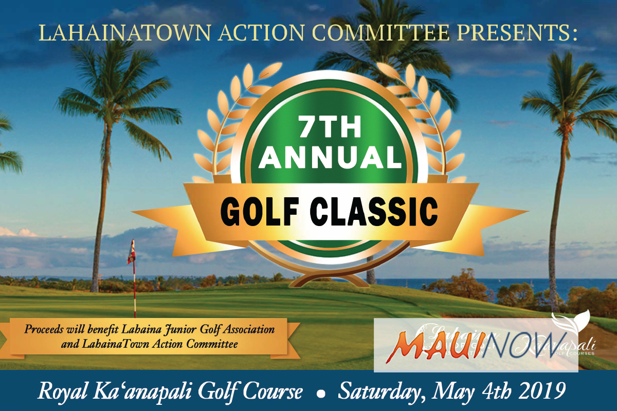 Lahaina Committee to Host 7th Annual Lahaina Golf Classic