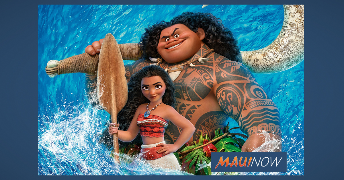 Hawaiian Version of Moana Free on Maui, April 18