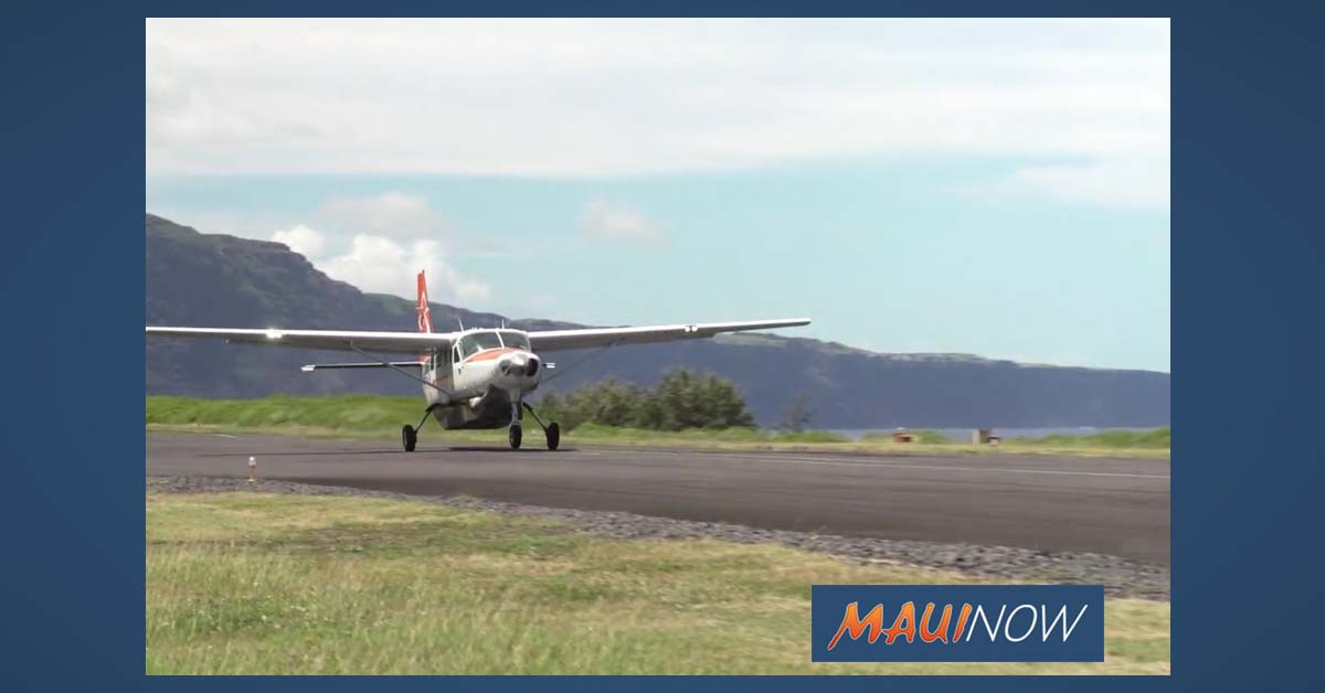 Mokulele Starts New Service to Lāna'i on June 17
