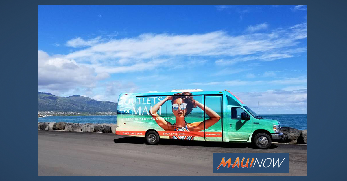 Outlets Of Maui Unveils New Shopping Shuttle