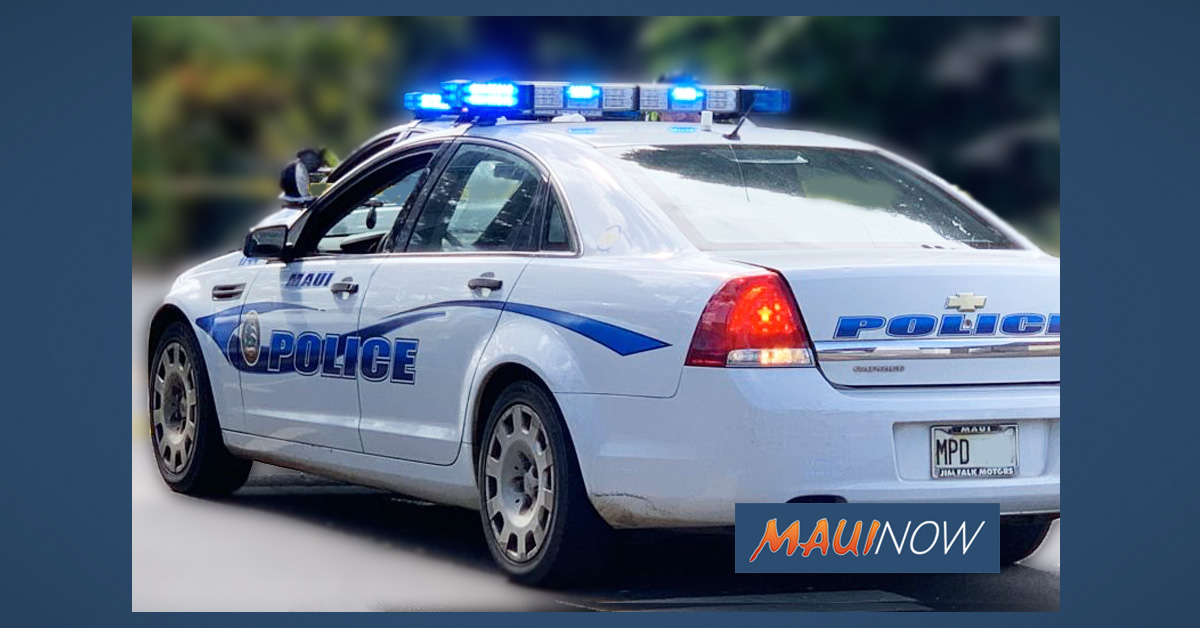 Maui Crime April 26 to May 2: Burglaries, Break-ins, Thefts
