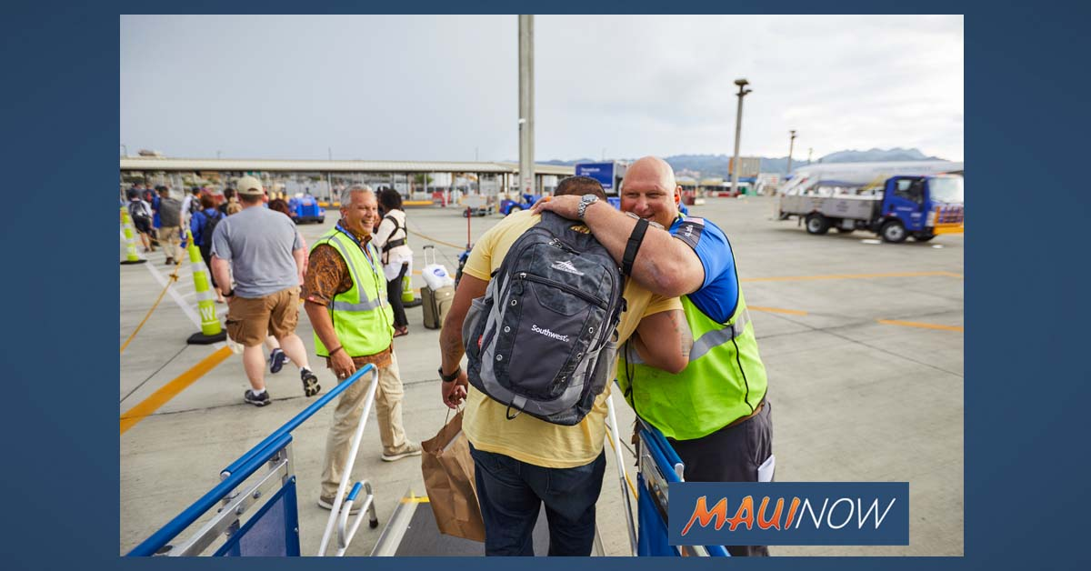 Southwest Begins Interisland Service