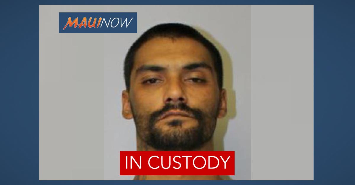 BREAKING: Maui Inmate Troy Diego in Custody
