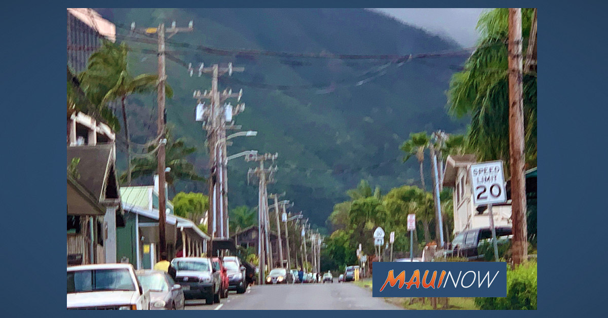 Water Shutdown Affecting Part of Wailuku, Feb. 16