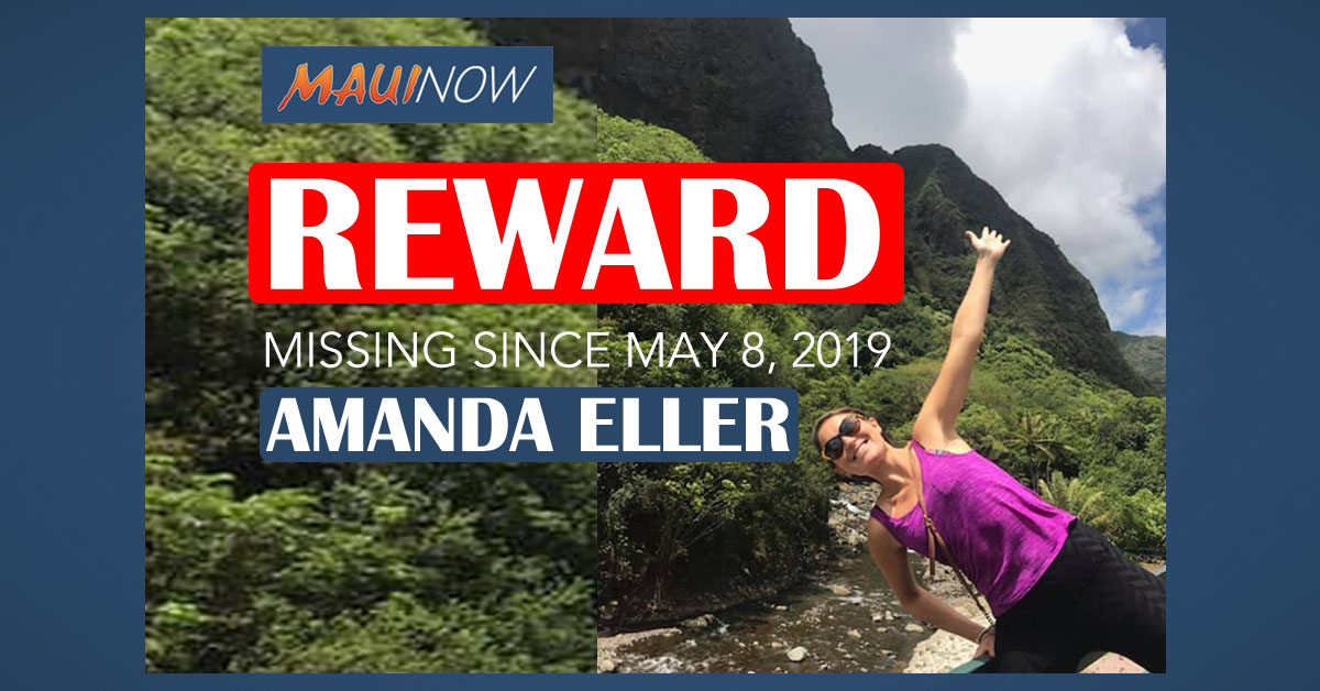 Day 16: Reward for Amanda Eller Bumped Up to $50K