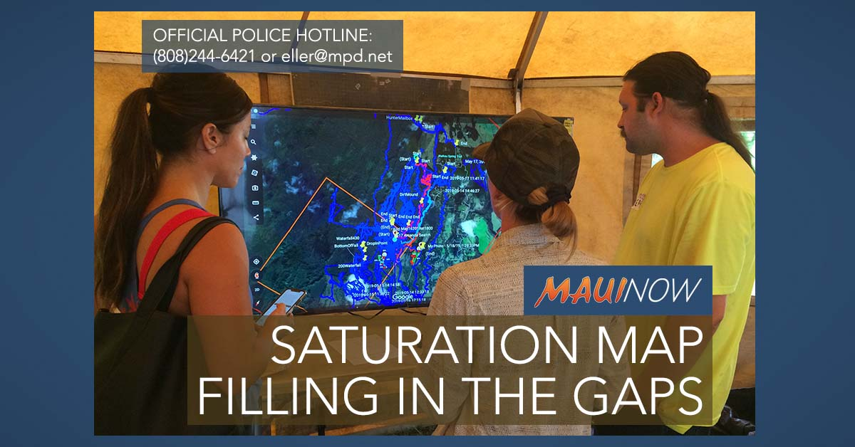 Day 11: Volunteers Continue to Fill in GPS Search Map