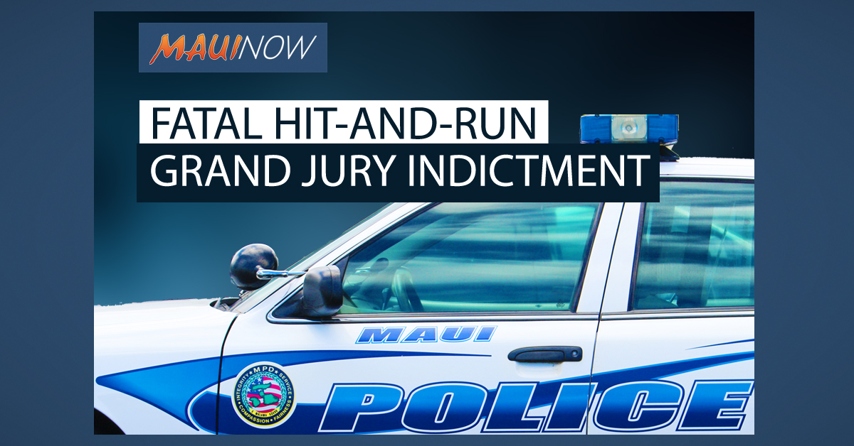 Grand Jury Indictment Made in 2016 Fatal Hit-and Run on Pi'ilani Hwy