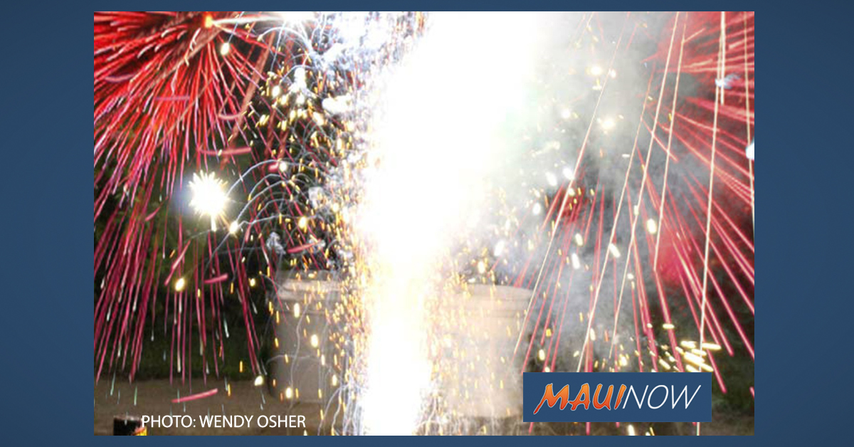 14 Fireworks Citations Issued, 68 Documented Cases in Maui County