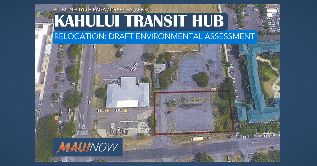 Input Sought on $2 M Maui Transit Hub Relocation