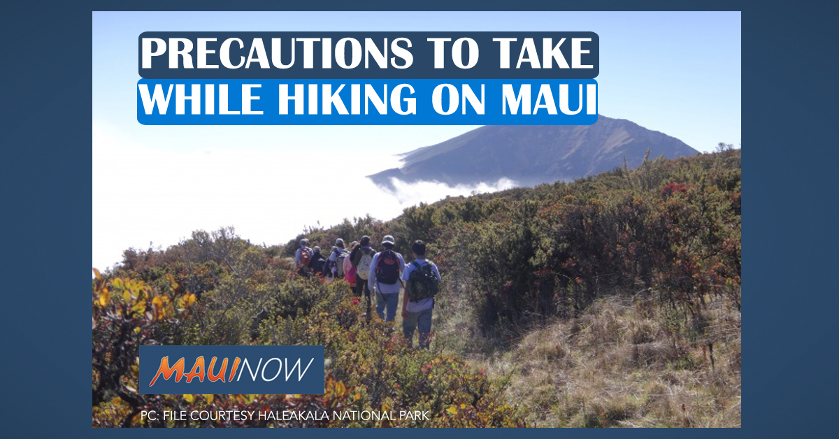 Precautions to Take While Hiking on Maui