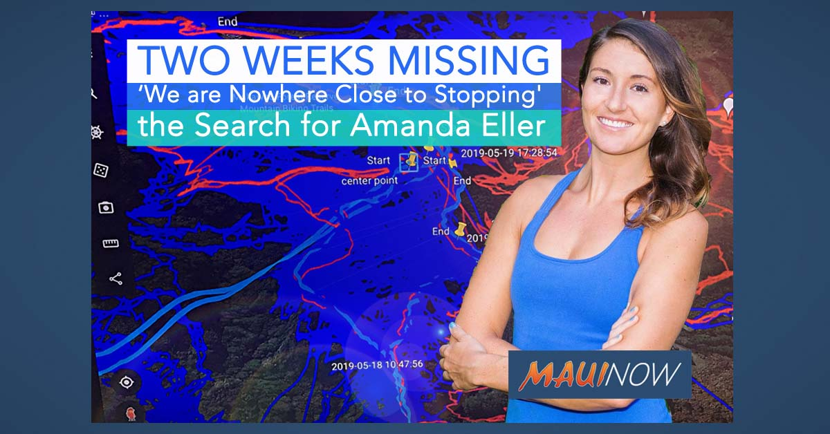Two Weeks Missing: 'We are Nowhere Close to Stopping' the Search for Amanda Eller