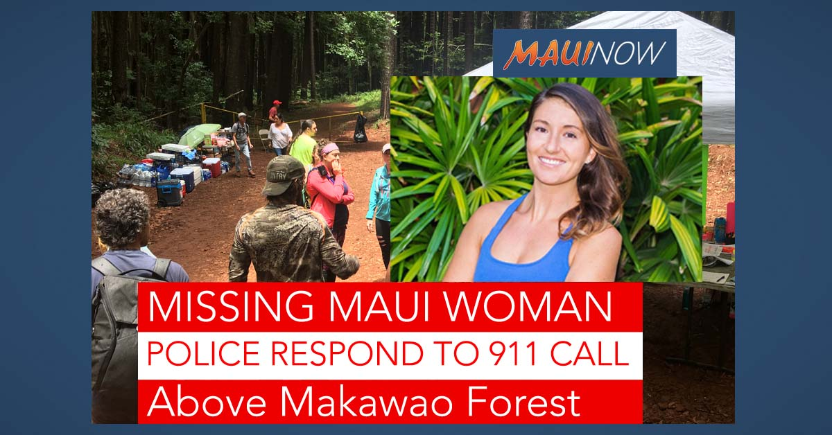 Missing Person Update: Maui Police Respond to 9-1-1 Call From Above Makawao Forest