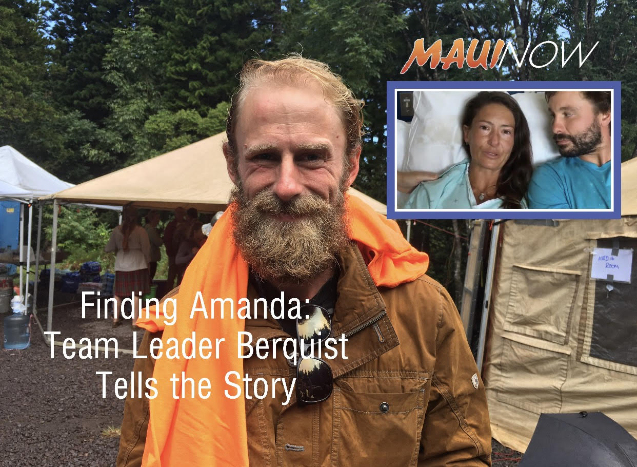 Finding Amanda: Team Leader Berquist Tells the Story