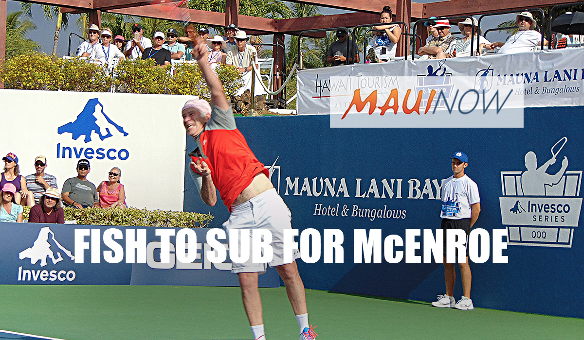 McEnroe Out of Lahaina Champions Event Due to Injury